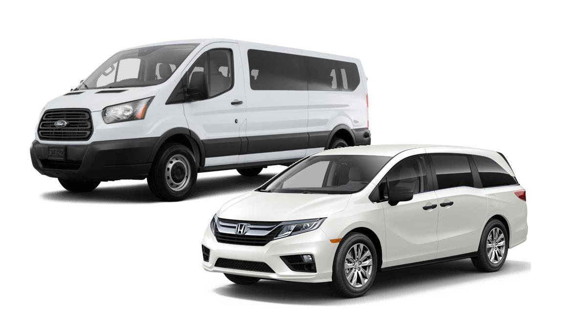 Pacific Car Rentals - Vans
