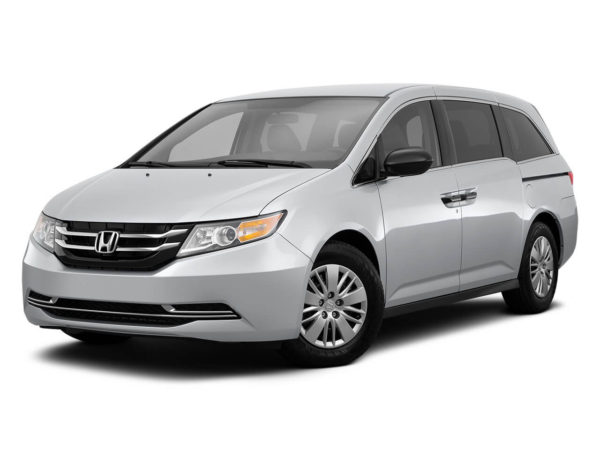 Honda Odyssey mini van for rent in vancouver